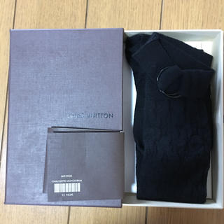 ルイヴィトン(LOUIS VUITTON)のルイヴィトン黒ハイソックス新品未使用品(ソックス)