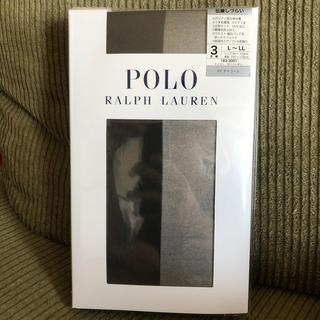 ポロラルフローレン(POLO RALPH LAUREN)のPOLO チャコール ストッキング(タイツ/ストッキング)