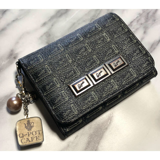 キューポット(Q-pot.)のQ-pot 二つ折り財布&チャームセット(財布)