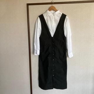 ダダ(DADA)のDADA ジャンパースカート 美品(サロペット/オーバーオール)