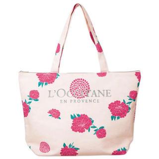 ロクシタン(L'OCCITANE)のロクシタン 花柄 トートバッグ ♡ クーポン消化 ポイント消化 送料込み(トートバッグ)