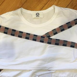 コモリ(COMOLI)の【KUON】LINE LONG SLEEVE T-SHIRT(Tシャツ/カットソー(七分/長袖))