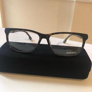 ディーゼル(DIESEL)のDIESELメンズ べっ甲柄 眼鏡(サングラス/メガネ)