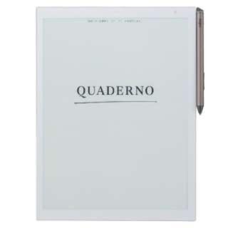 フジツウ(富士通)の新品未開封 QUADERNO(クアデルノ) A5サイズ(タブレット)