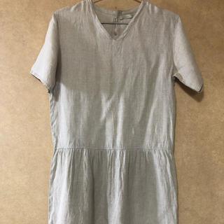 フォグリネンワーク(fog linen work)の夏物セール‼️fog linen work  チュニックワンピース(ひざ丈ワンピース)