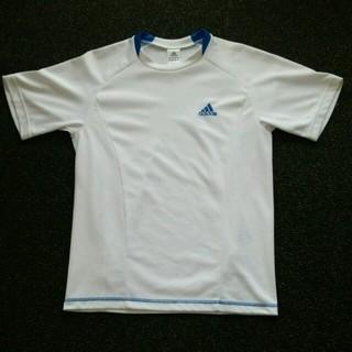 アディダス(adidas)の《美品》アディダス半袖スポーツTシャツ(Tシャツ/カットソー)