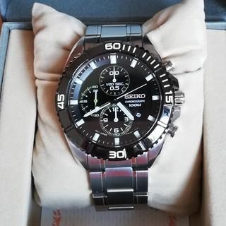 セイコー(SEIKO)のSEIKOセイコー/メンズクロノグラフ7T92-0PV0 100M クオーツ(腕時計(アナログ))