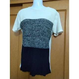 t.A.I.ニットシャツ M(Tシャツ(半袖/袖なし))