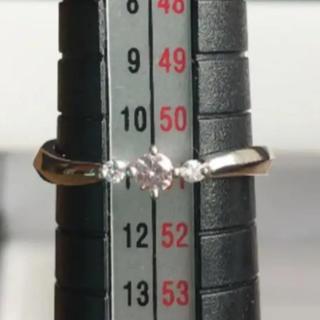ピンダイヤ リング ジェムケリー   プラチナ pt900 指輪(リング(指輪))