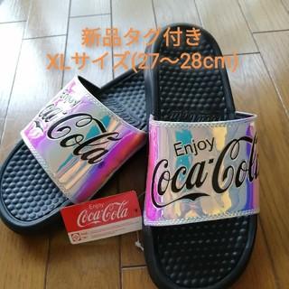 コカコーラ(コカ・コーラ)の【即購入OK(^-^ 】コカコーラ シャワーサンダル 新品タグ付き XLサイズ3(サンダル)