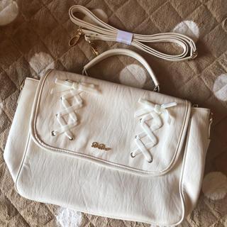 リズリサ(LIZ LISA)のLIZLISA ホワイトバッグ(ショルダーバッグ)
