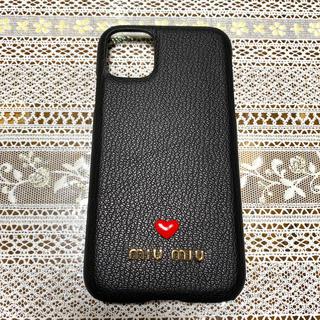 ミュウミュウ(miumiu)のiPhone 11 ケース miu miu(iPhoneケース)