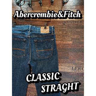 アバクロンビーアンドフィッチ(Abercrombie&Fitch)のアバクロンビー&フィッチ♪クラシックストレート♪ウエスト約80cm♪1761B(デニム/ジーンズ)