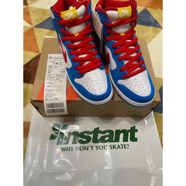 NIKE(ナイキ)のNike SB Dunk High Doraemon メンズの靴/シューズ(スニーカー)の商品写真