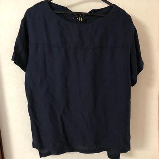 レプシィム(LEPSIM)のブラウス ネイビー(シャツ/ブラウス(半袖/袖なし))