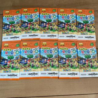 ニンテンドウ(任天堂)のどうぶつの森 amiiboカード 10パックセット(カード)