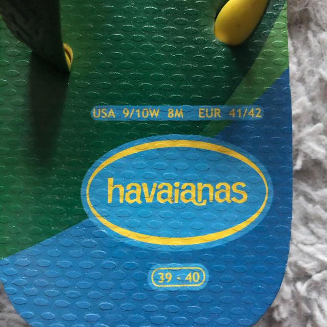 havaianas(ハワイアナス)の★限定品★ビーチサンダル ハワイアナス オリンピック ブラジル メンズの靴/シューズ(ビーチサンダル)の商品写真