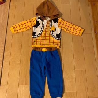トイストーリー(トイ・ストーリー)のハロウィン衣装 トイストーリー ウッディー サイズ95 (衣装一式)