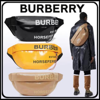 バーバリー(BURBERRY)の正規品 Burberry 20SS バーバリー  ホースフェリー バッグ XL(ボディーバッグ)