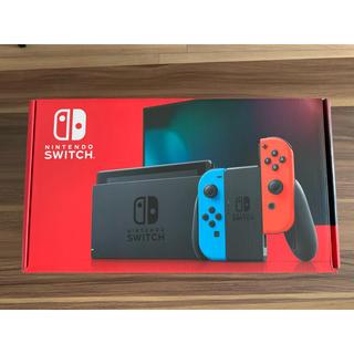 ニンテンドースイッチ(Nintendo Switch)のNintendo Switch ニンテンドー スイッチ  本体 ネオン ❷(家庭用ゲーム機本体)