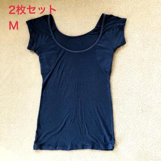 ベルメゾン(ベルメゾン)のベルメゾン サラリスト フレンチ袖 インナー M 2枚セット(アンダーシャツ/防寒インナー)
