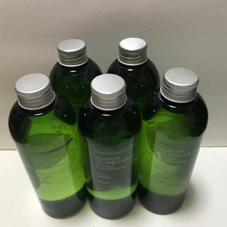 ムジルシリョウヒン(MUJI (無印良品))の無印良品フレグランスオイルグリーン 250ml 5本(エッセンシャルオイル(精油))