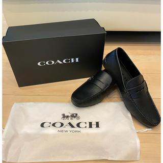 COACH - 大幅値下げ! ☆新品未使用☆ コーチ 革靴 ローファー ブラック 27cm