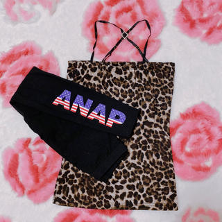 アナップ(ANAP)の【ANAP・Skinny Lip】レギンスインナーセット(レギンス/スパッツ)