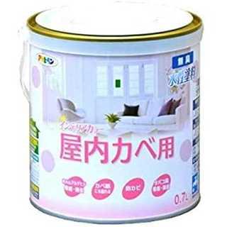 シャーベットイエロー0.7Lアサヒペン NEW水性インテリアカラー屋内カベ 0.(その他)