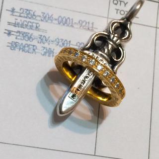 クロムハーツ(Chrome Hearts)のクロムハーツ スペーサーリング3mm  14号(リング(指輪))