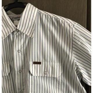 カーハート(carhartt)の【古着】Carhatt ストライプシャツ(シャツ/ブラウス(長袖/七分))