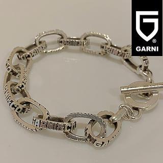 ガルニ(GARNI)のガルニ GARNI シルバー925 総ロゴ ブレスレット(ネックレス)