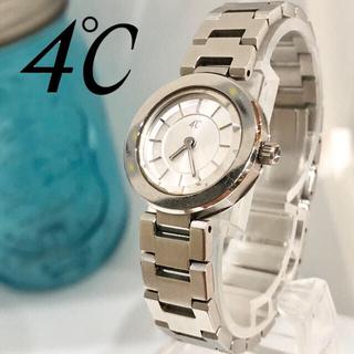 ヨンドシー(4℃)の専用4°C ヨンドシー ルキア 2点レディース腕時計 新品電池 美品 111(腕時計)