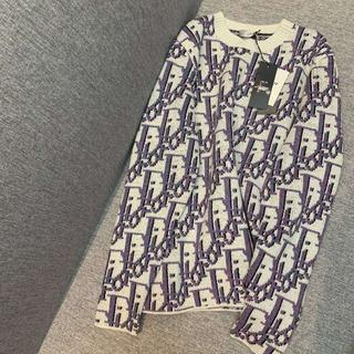 ディオール(Dior)のDIOR長袖セーターサイズS(ニット/セーター)