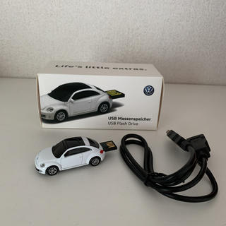フォルクスワーゲン(Volkswagen)の非売品 ミニカー型USB フォルクスワーゲン ノベルティー(ノベルティグッズ)