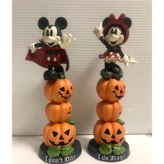 ミニーマウス(ミニーマウス)のディズニーリゾート30周年 ハロウィン ミッキー&ミニー フィギュア 2個セット(その他)