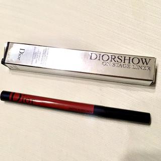ディオール(Dior)のDior ディオールショウ オンステージ アイライナー 886 新品 (アイライナー)