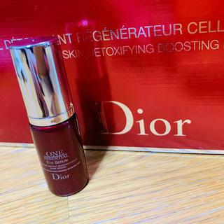 ディオール(Dior)のディオール ワン エッセンシャル アイ 目元美容液 サンプル 5ml(アイケア/アイクリーム)