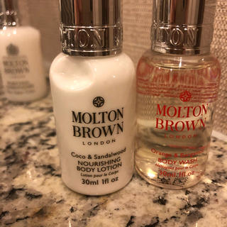 MOLTON BROWN - MOLTON BROWNボディソープ&ボディローション