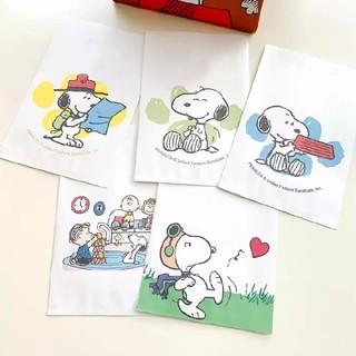 スヌーピー(SNOOPY)のスヌーピー 平袋 5枚セット☆(ラッピング/包装)