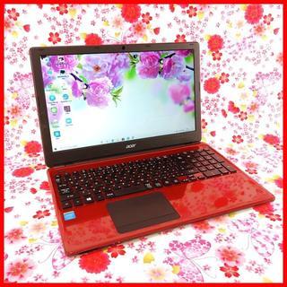 Acer - 【カメラ搭載】ノートパソコン♪office♪初心者も安心♪Windows10