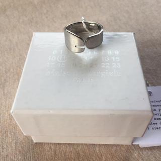 マルタンマルジェラ(Maison Martin Margiela)の20AW新品L メゾン マルジェラ 足袋ブーツ リング タビ 指輪 新作 メンズ(リング(指輪))