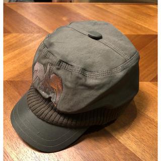 ディーゼル(DIESEL)のディーゼル 帽子 キャスケット キャップ カーキ(キャスケット)