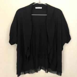 ツモリチサト(TSUMORI CHISATO)のツモリチサト 半袖 カーディガン(カットソー(半袖/袖なし))