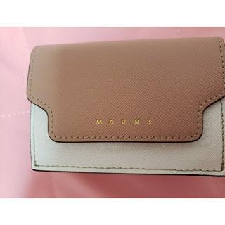 マルニ(Marni)の新品 マルニ 3つ折り財布 トランク 希少色(財布)