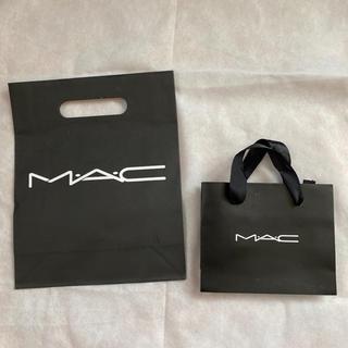マック(MAC)のMac ショップ袋 2セット!(ショップ袋)