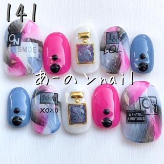 送料&カラー変更1色無料«141»ジェルネイルチップ♡*゜