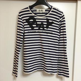コムデギャルソン(COMME des GARCONS)のPLAY COMMEdesGARCONS カットソー (Tシャツ(長袖/七分))