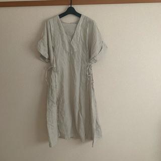 ネストローブ(nest Robe)のnest robe リネンワンピース(ひざ丈ワンピース)