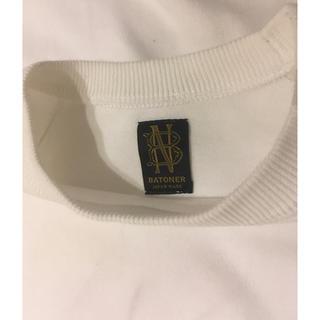 コモリ(COMOLI)のBATONER ニット Tシャツ 値下げ(ニット/セーター)